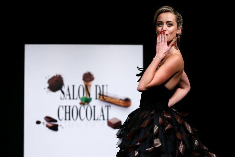 Čokoladna revija raspametila svet: Jestive haljine, šnale i šeširi!
