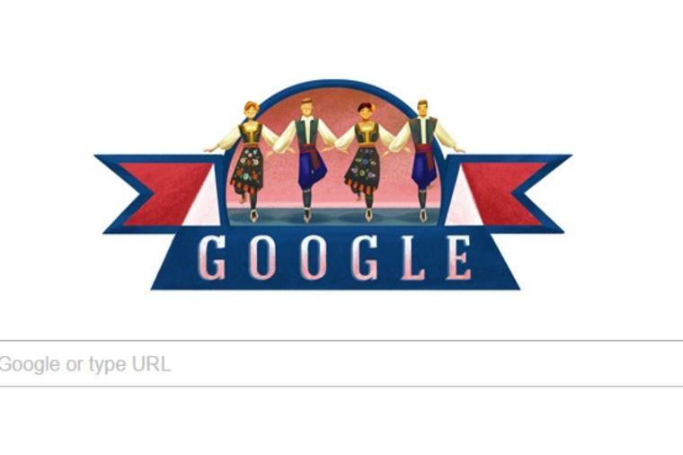 Gugl čestitao Sretenje