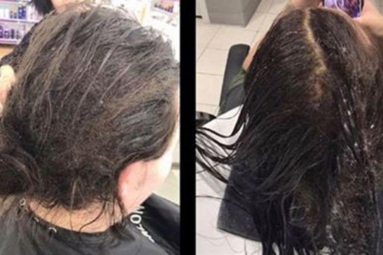 Došla u salon sa ovoliko zapuštenom kosom: Reakcija frizerke uzdrmala ceo svet! (FOTO)