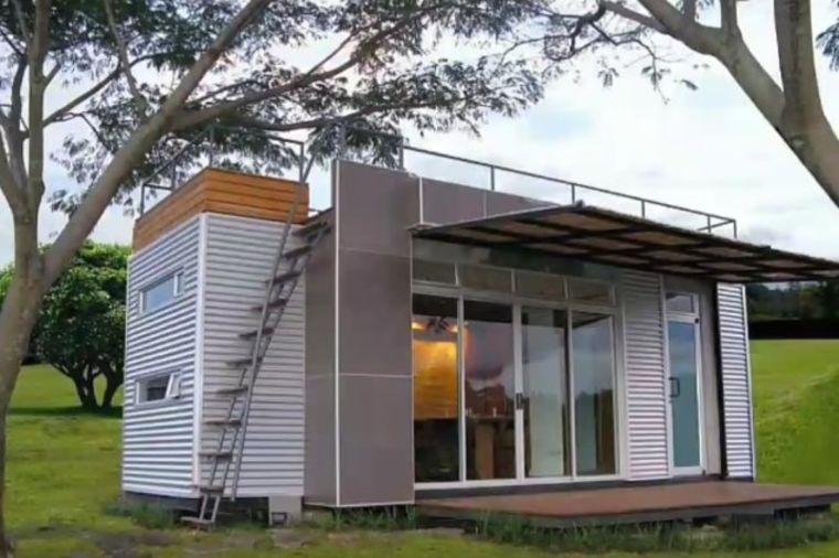 Jeftin, a luksuzan dom: Od kontejnera napravili udobnu kuću za četvoro! (FOTO, VIDEO)