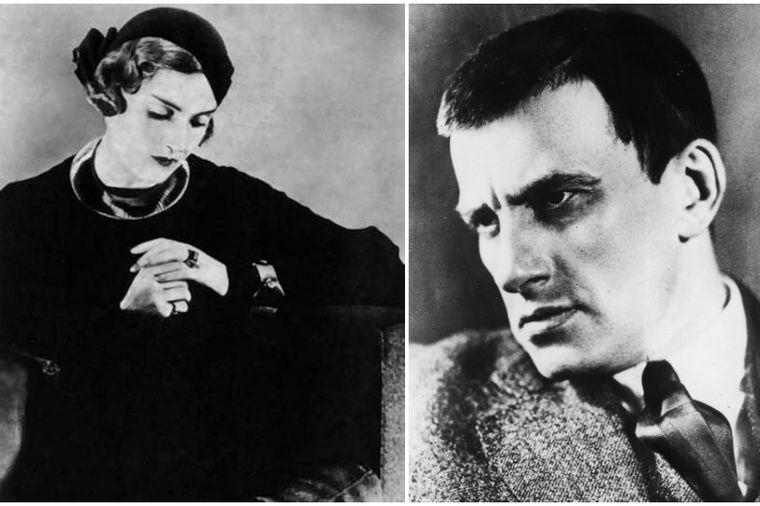 Vladimir Majakovski i Tatjana Jakovljeva