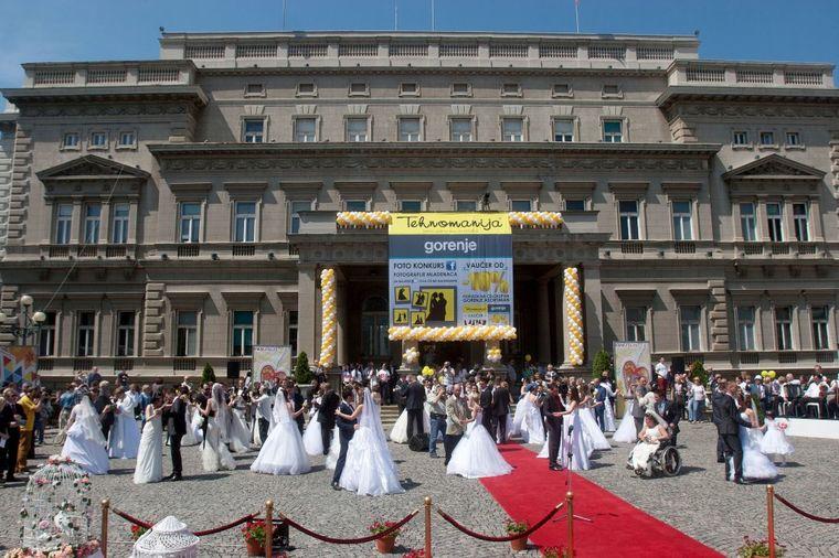 Počele prijave za kolektivno venčanje u Beogradu!