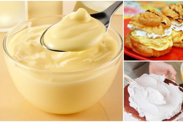 Univerzalni poslastičarski krem od vanile: Tajna najlepših torti i kolača! (RECEPT)