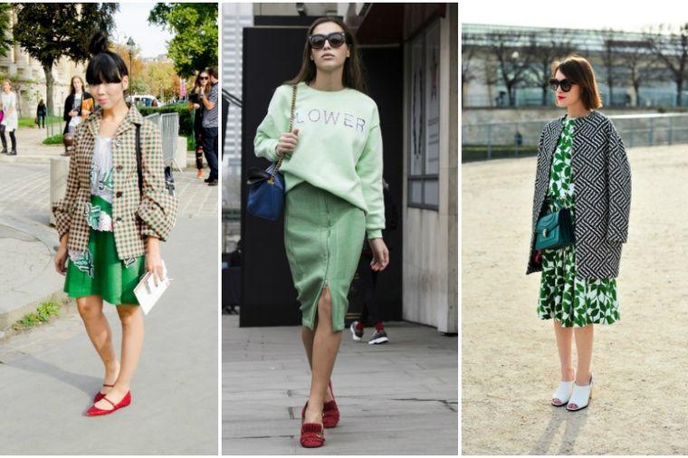 Boja koju se žene plaše da nose: Kako da kombinujete najlepše nijanse zelene! (FOTO)