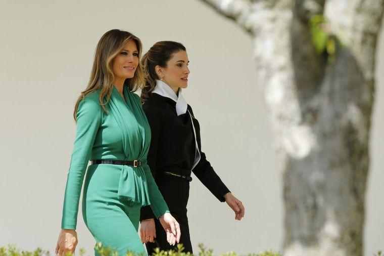 Melanija je ugostila kraljicu Raniju: Vidite li šta ne štima na ovoj fotografiji? (FOTO)