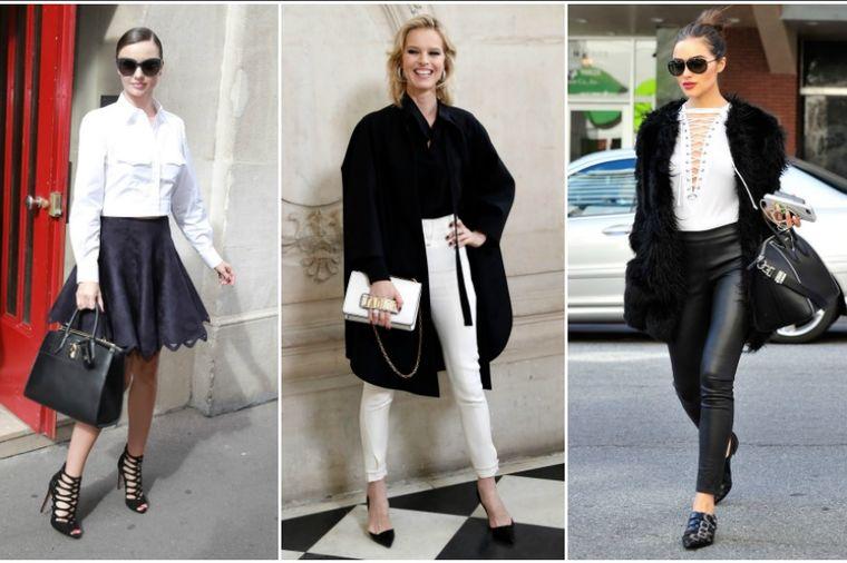 Besmrtna moda: Kako da nosite crno-bele kombinacije ovog proleća! (FOTO)
