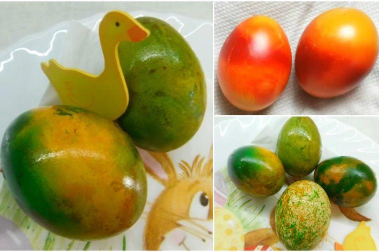 Farbanje jaja vatom: Nikad lakše, nikad brže, nikad lepše! (FOTO)