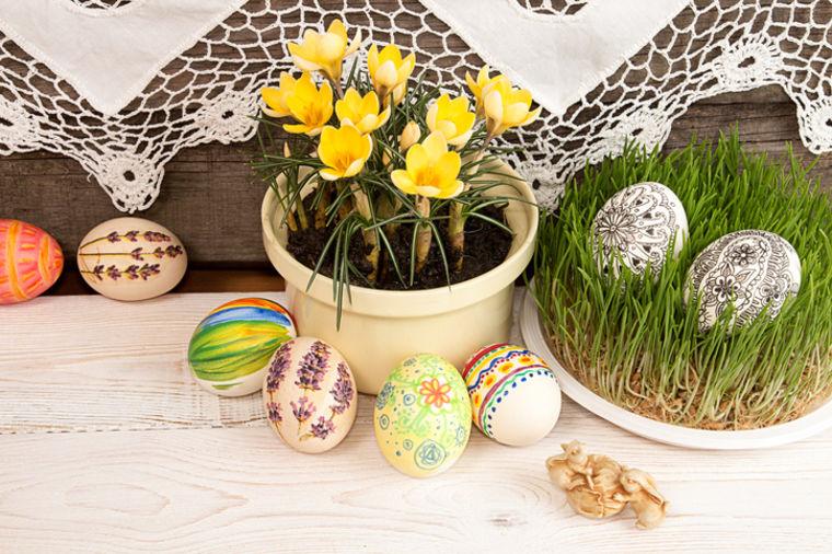 Najveća radost u domu: Uskršnja dekoracija svečane trpeze!