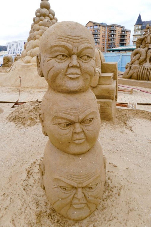 Skulpture od peska, Foto: Profimedia