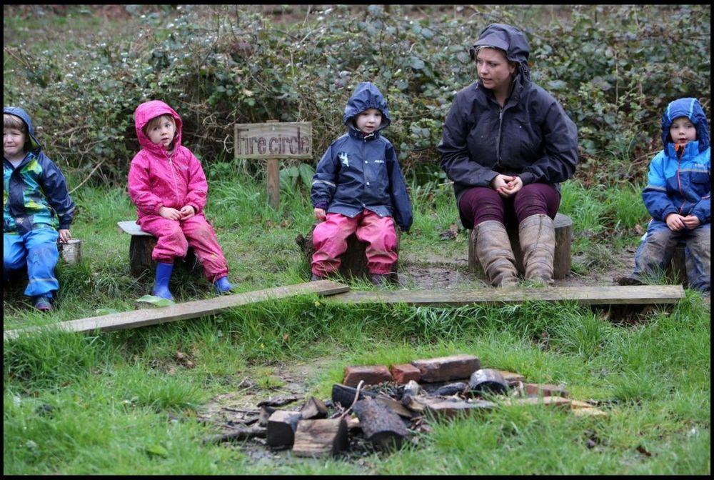Ne postoji loše vreme, samo pogrešna garderoba, smatraju zaposleni u šumskom obdaništu. Foto: Profimedia
