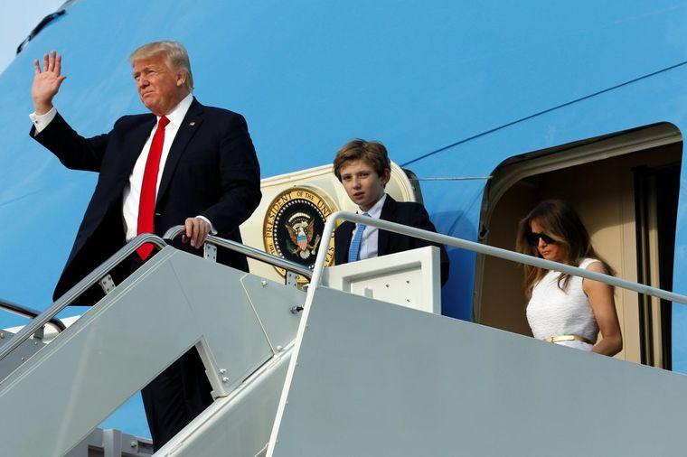 Donald i Melanija Tramp, Foto: Reuters / Yuri Gripas