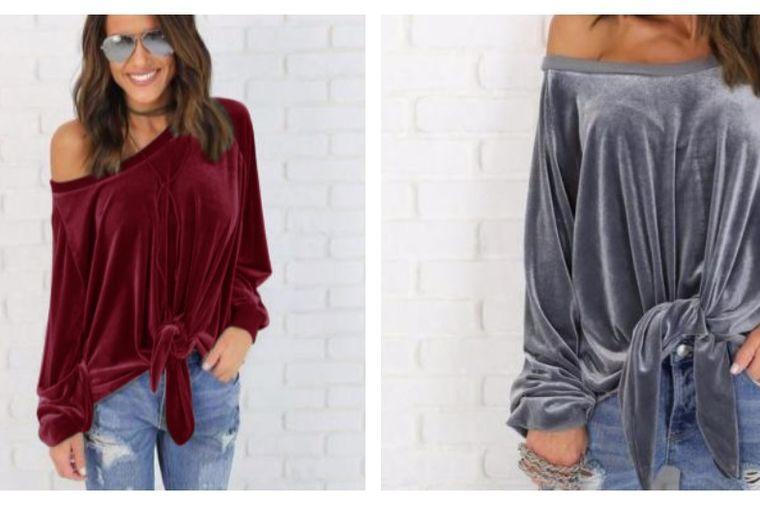 Zaljubićete se na prvi pogled: Plišana bluza u glamuroznom boho stilu oboriće sve dame s nogu!
