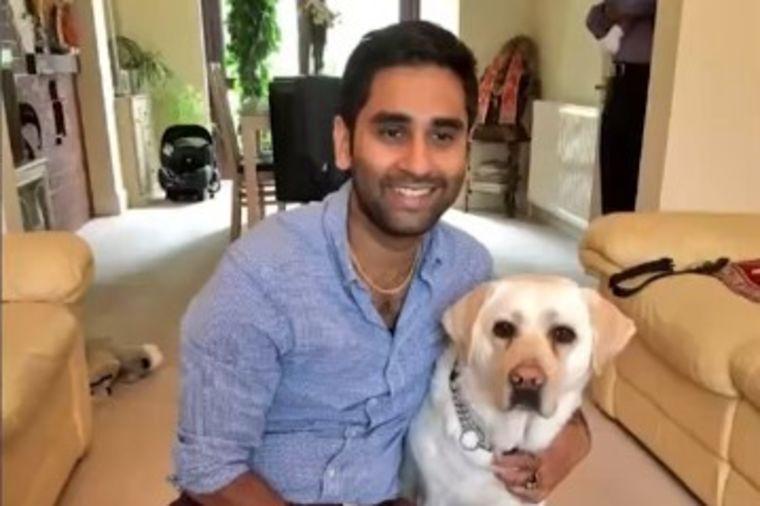 Slepi lekar postavio kameru na psa vodiča: Snimak otkrio grozote koje im prolaznici rade! (VIDEO)