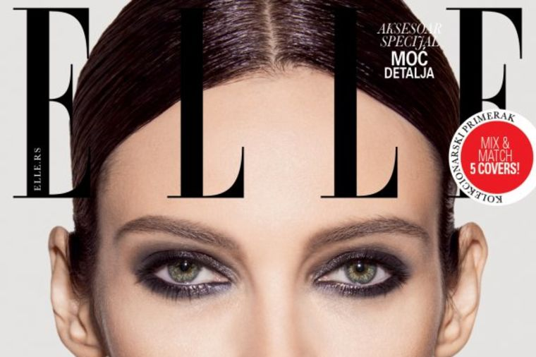 ELLE mix&match rođendanska naslovna: 1 model, 5 naslovnica i  35 promena!(VIDEO)