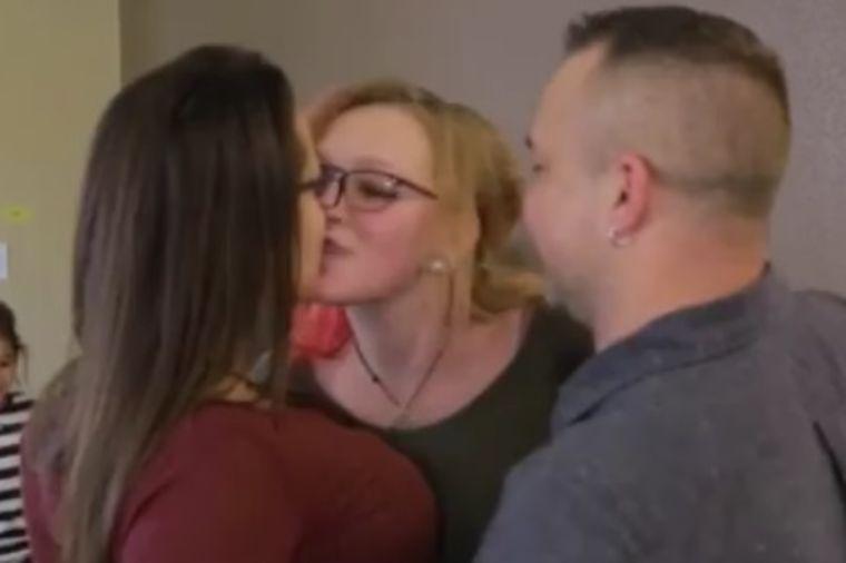 Kristini dosadilo u braku pa našla ljubavnicu: Muž oberučke prihvatio drugu ženu! (VIDEO)