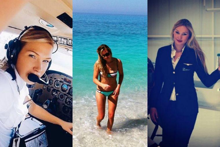 Život iz bajke najzgodnije žene pilota: Svi bi da lete sa Mišel (25), evo i zašto! (FOTO)