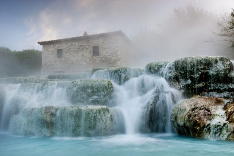 Besplatan spa centar u Toskani: Ovde Italijani dolaze da odmore dušu! (FOTO)