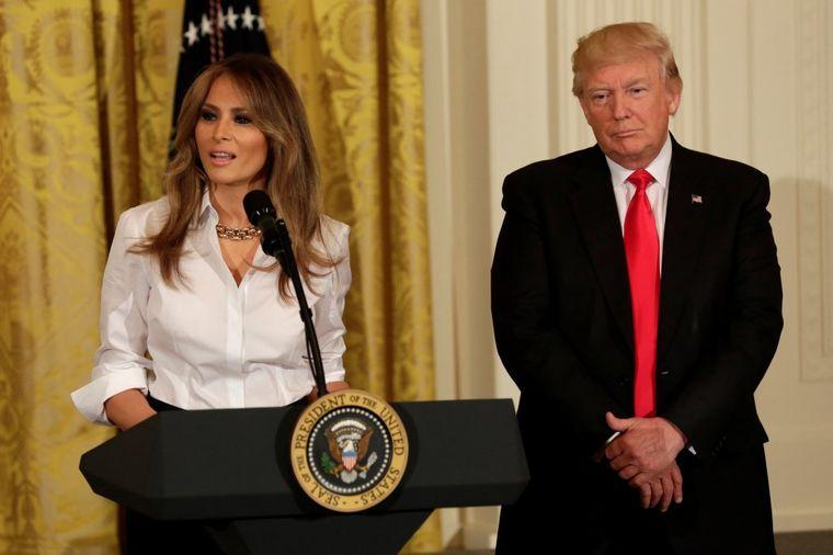 Svet bruji, mediji tvrde: Razvode se Melanija i Donald Tramp!