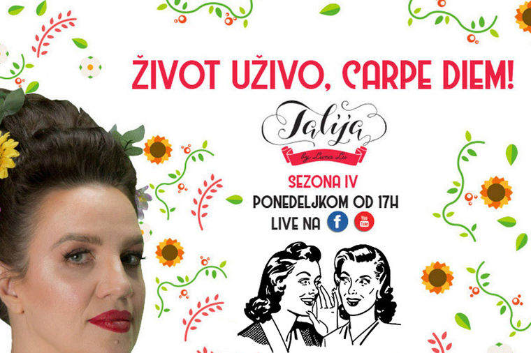 Talija - Život uživo, carpe diem: Majstori ljubavi ne sede na klupi!