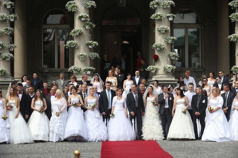 Kolektivno venčanje u nedelju u Skupštini Beograda