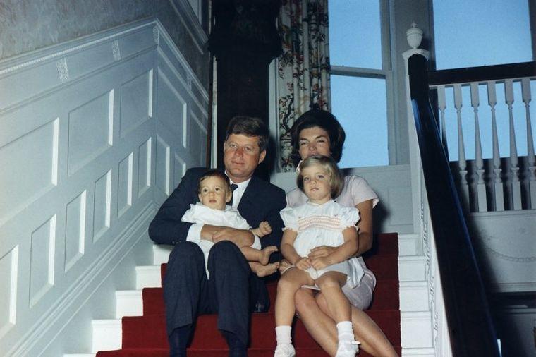 Džeki i Džon Kenedi, foto: Profimedia