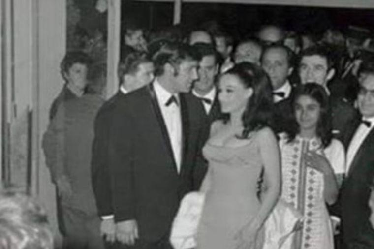 Bata Živojinović i Olivera Katarina