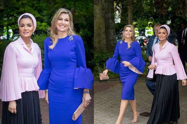 Moza bint Naser i kraljica Maksima: Zašto su svi gledali u ove dve dame! (FOTO)