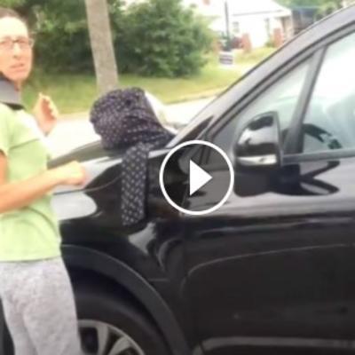 Beskućnica prosila na ulici: Snimak sa parkinga pokazao jezivu istinu! (FOTO)