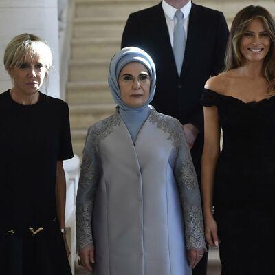 Melanija Tramp blistala među prvim damama: Jedan muškarac ipak privukao više pažnje! (FOTO)