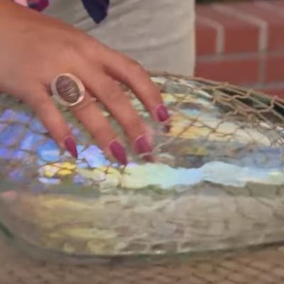 Mrežom obmotala vazu: Ovaj detalj poželećete odmah u svom domu! (VIDEO)