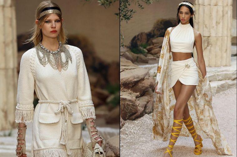 Nova Šanel kolekcija: Letnje haljine sa visokim strukom, zemljane boje i morski tonovi! (FOTO)