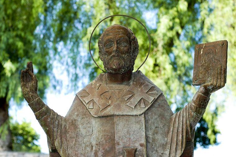 Foto: Thinkstock, Statua Svetog Nikole u Demreu