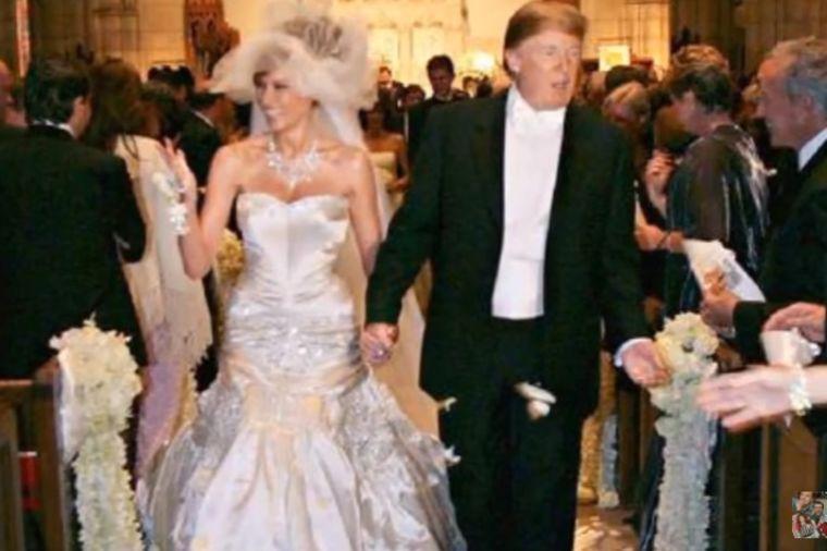 Venčanje Melanije i Donalda Trampa pre 12 godina: Mlada blistala, sve prštalo od luksuza! (FOTO)