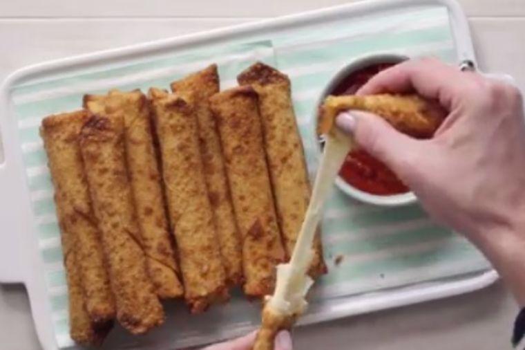 Sir-štapići: Pet puta ukusniji i brži od pite! (FOTO, RECEPT)