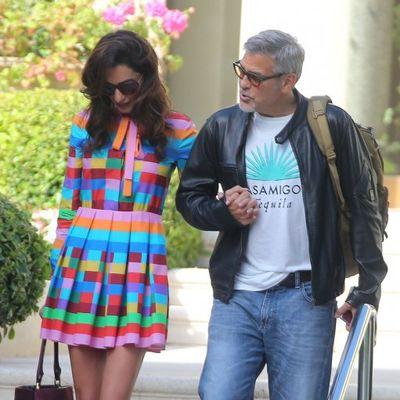 Ovako izgledaju prvi roditeljski dani Amal i Džordža Klunija!