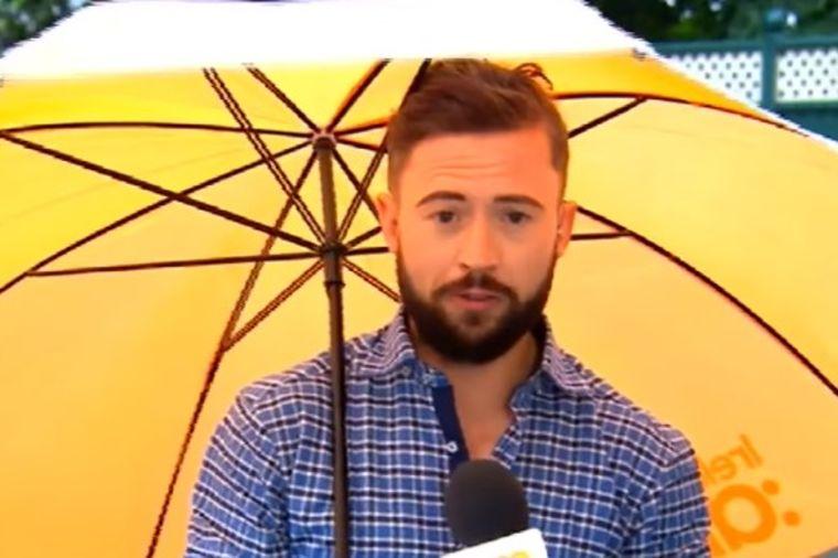 Vodio je vremensku prognozu: Ceo svet mu se smeje zbog onog što mu se desilo! (VIDEO)