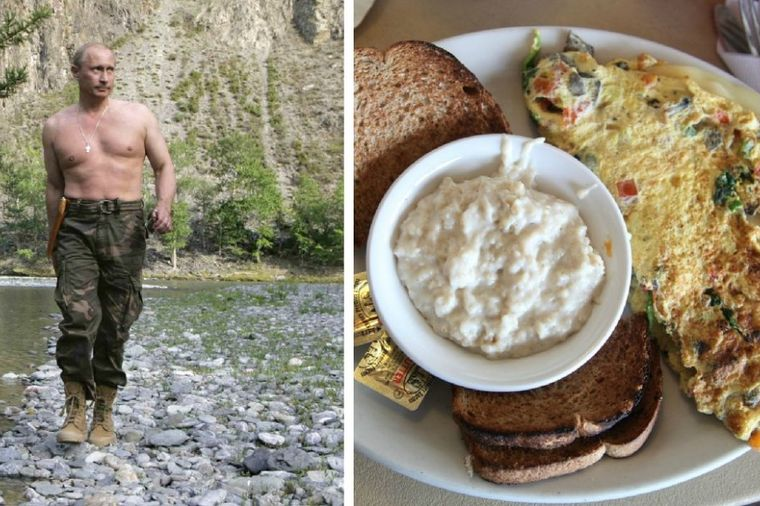 Ovako izgleda doručak Vladimira Putina: Kalorično i moćno! (FOTO)