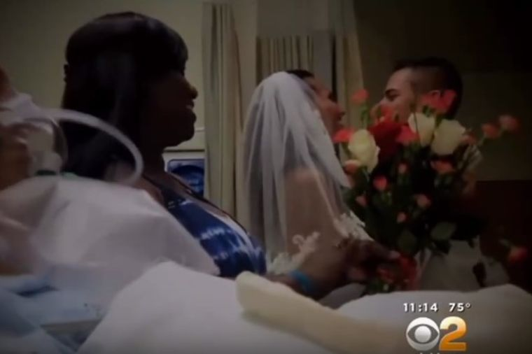 Želeli veliku svadbu, morali da menjaju plan: Dirljiva scena venčanja u bolnici! (VIDEO)