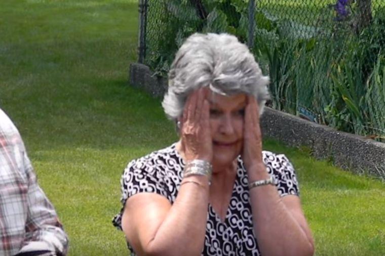 Unuka baki priredila neviđeni šok: Zbog njega nije prestajala da plače! (VIDEO)