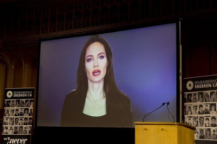 Anđelina Džoli o Srebrenici: Održala govor povodom godišnjice (FOTO)