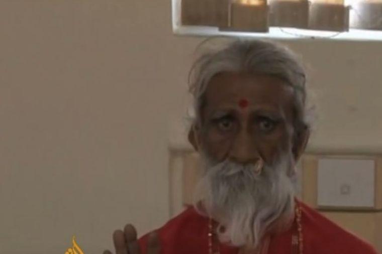77 godina ništa nije ni jeo ni pio: Stručnjaci misle da on zna tajnu besmrtnosti! (VIDEO)