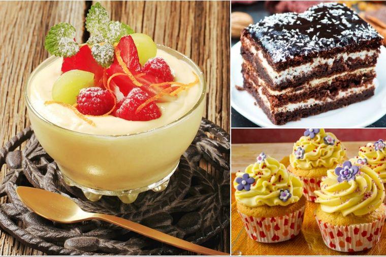 Bavarski krem kao desert ili fil za torte, kolače i kapkejkove: Baš, baš dobra poslastica! (RECEPT)