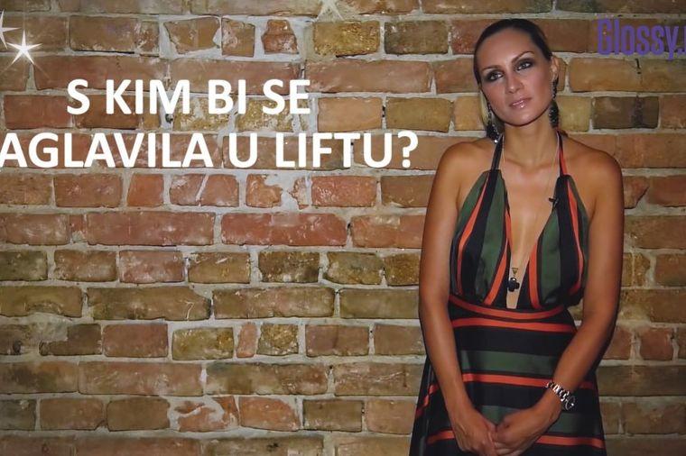Glossy lično – Jelena Gavrilović: Padam na glupe fore za muvanje! (VIDEO)