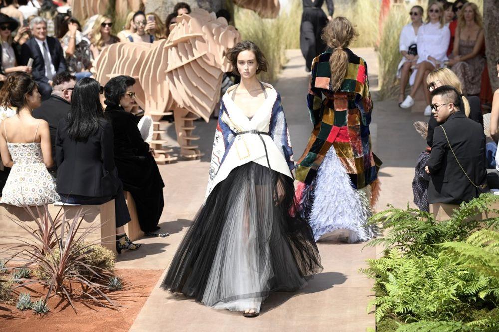 Kristijan Dior kolekcija, foto: EPA / Julien De Rosa
