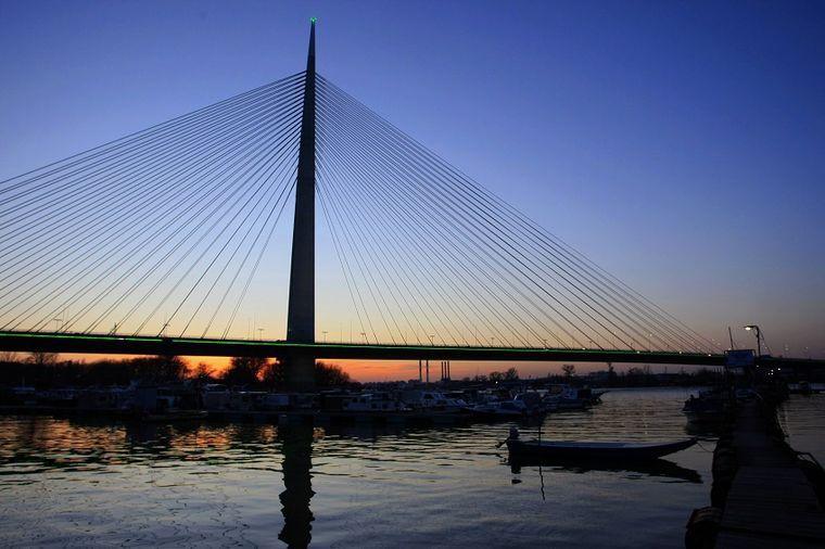Most na Adi, Foto: Beta / Miloš Miškov