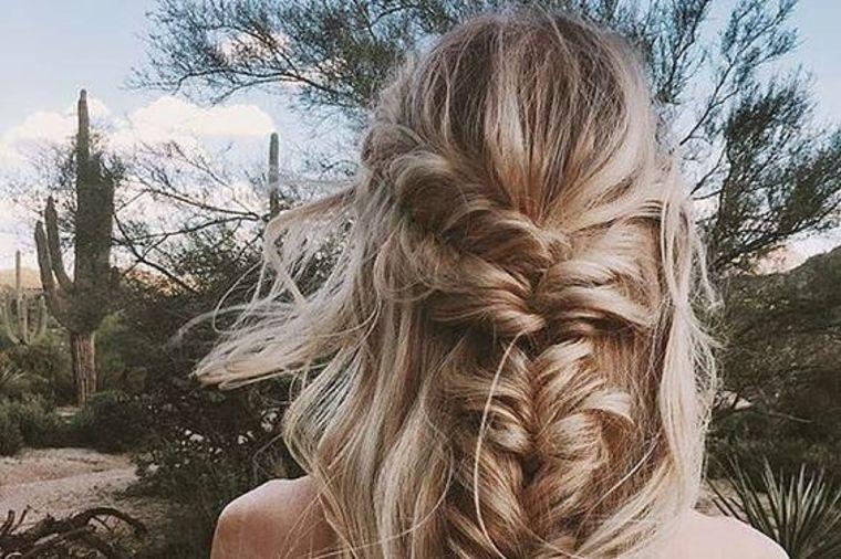 5 ideja za svadbu: Frizure za žene duge kose (FOTO)