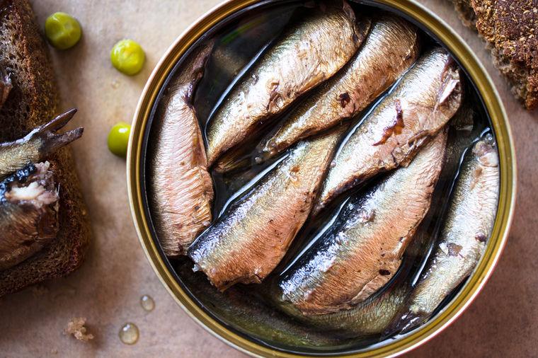 Jedite sardine što češće, i živećete dugo i bez bolesti: Evo zašto!