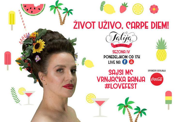Talija - život uživo, carpe diem: Na festivalu ljubavi u Vrnjačkoj Banji