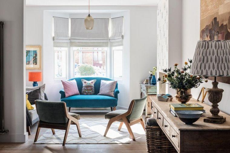 Rustični detalji, upadljiv tepih i zid u boji: 5 malih promena do novog doma! (FOTO)