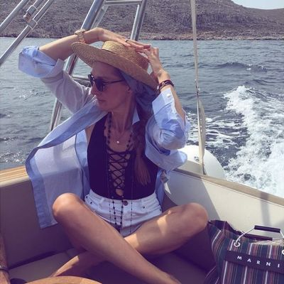 Letnji stil Marije Tarlać: Naša modna dizajnerka čiji stil obožavamo! (FOTO)